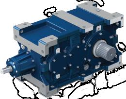 Коническо-цилиндрические редукторы серии RXO-800, RXV-800